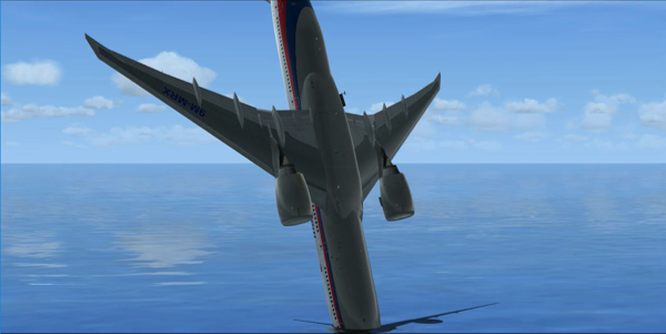 MH370 End-of-Flight with Banked Descent and No Pilot « The