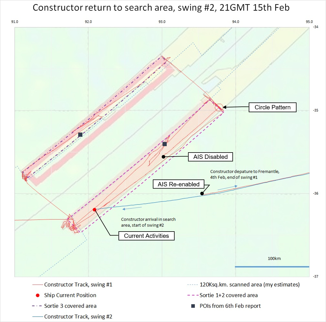 Mh370 Search Update Feb 16 2018 The Disappearance Of Wiring Mainbreaker Box In Detached Garage Electrical Diy Chatroom Seabed Constructors Path As Adapted From Work Richard Cole Click On Image To Enlarge