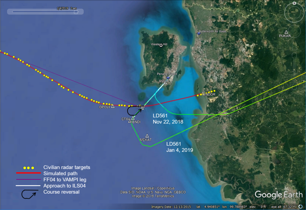 MH370 Flight Around Penang « The Disappearance of MH370