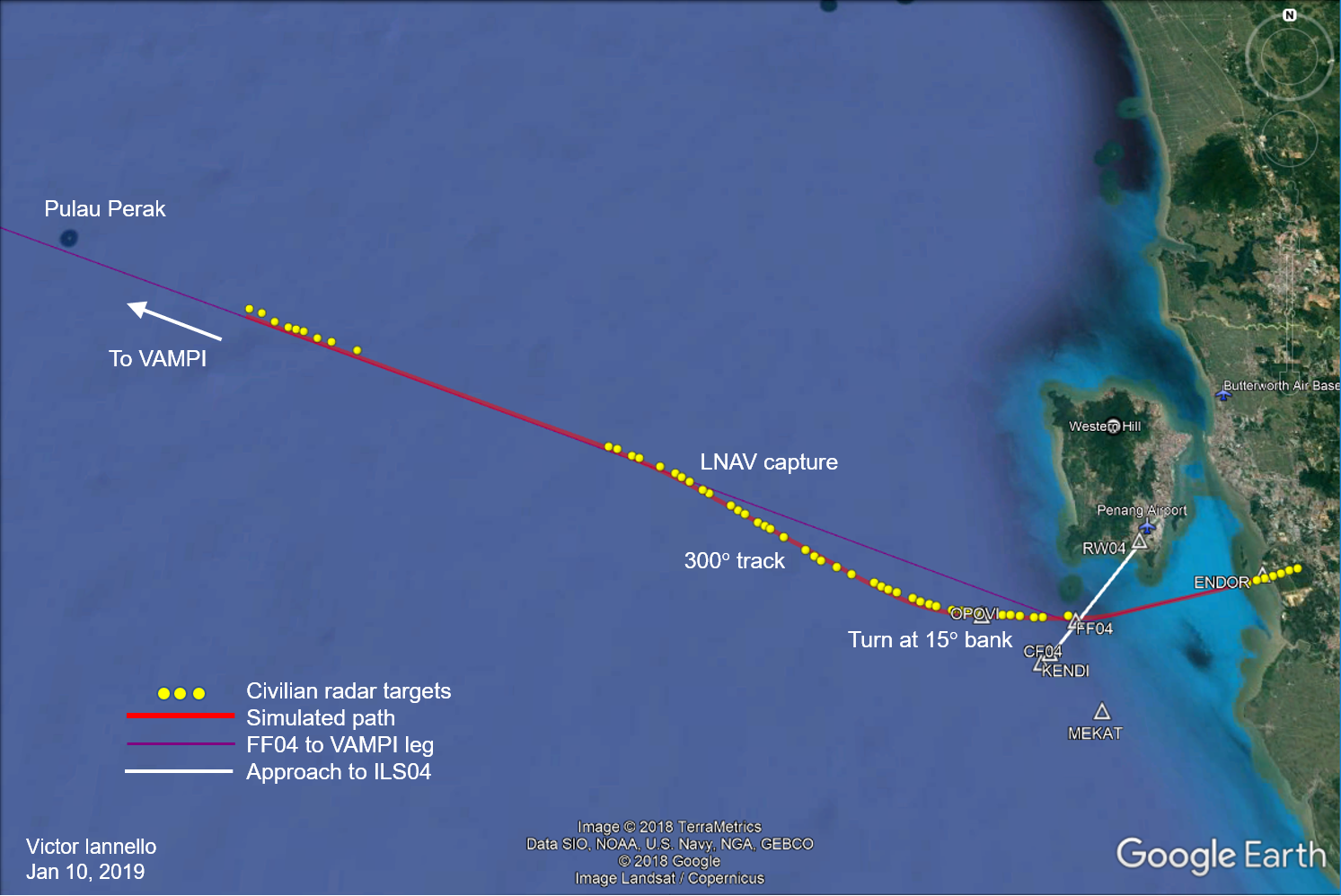 MH370 Flight Around Penang « The Disappearance of MH370 on